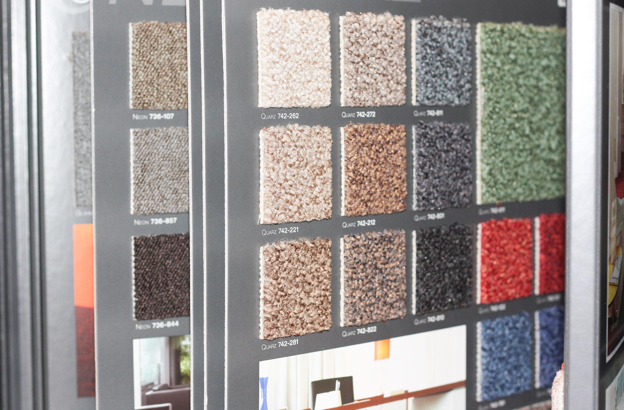 Große Auswahl an Bodenbelägen und -beschichtungen