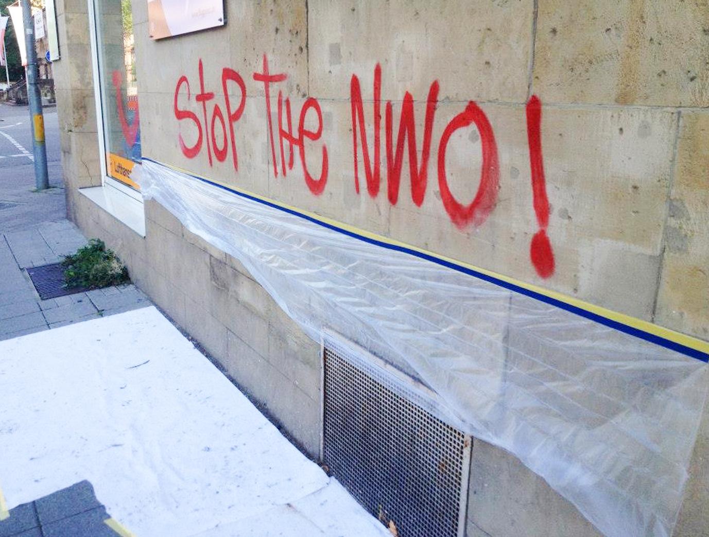 Beseitigung von Graffitis