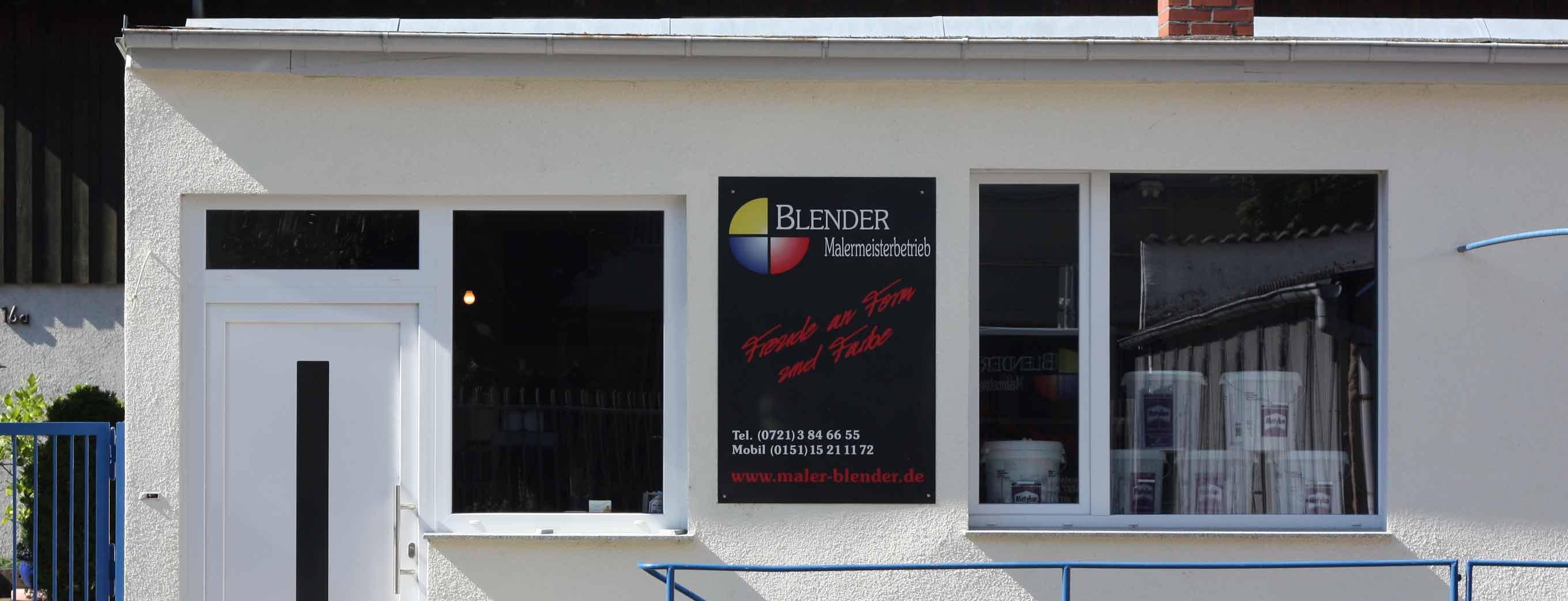 Malerarbeiten Timo Blender: Kontaktieren Sie uns!