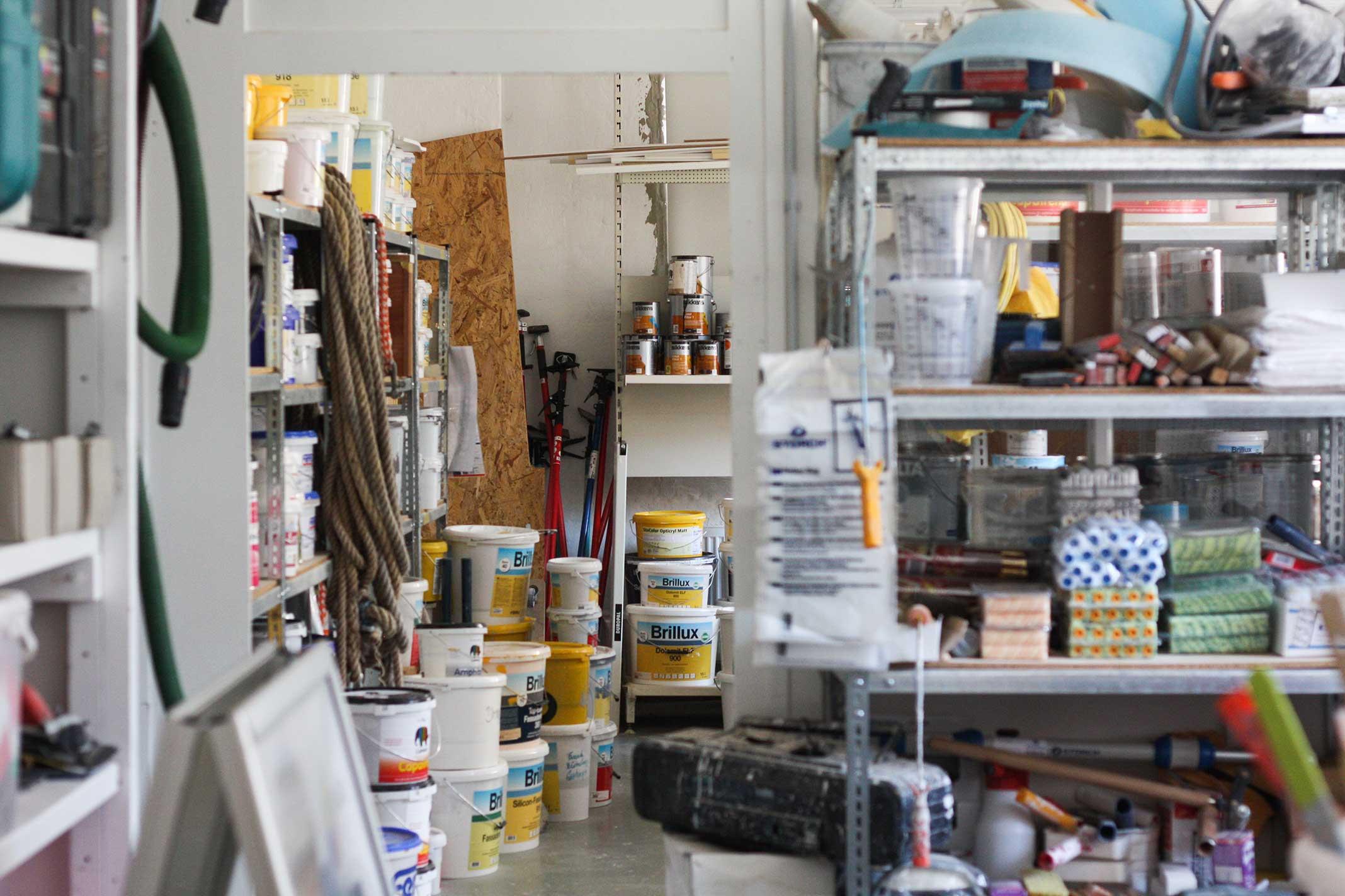 Meisterbetrieb Blender | Werkstatt Innenansicht