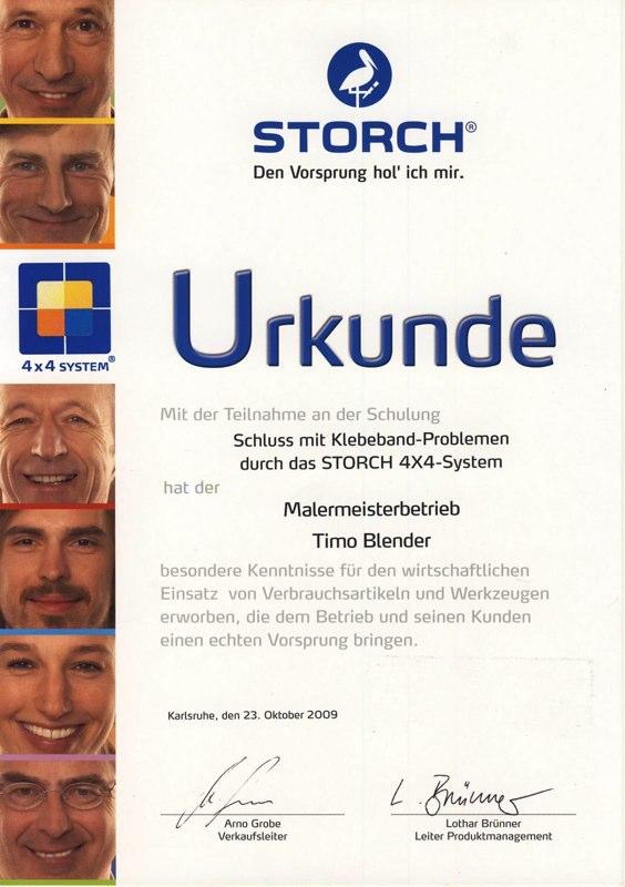 Zertifikat Klebenband