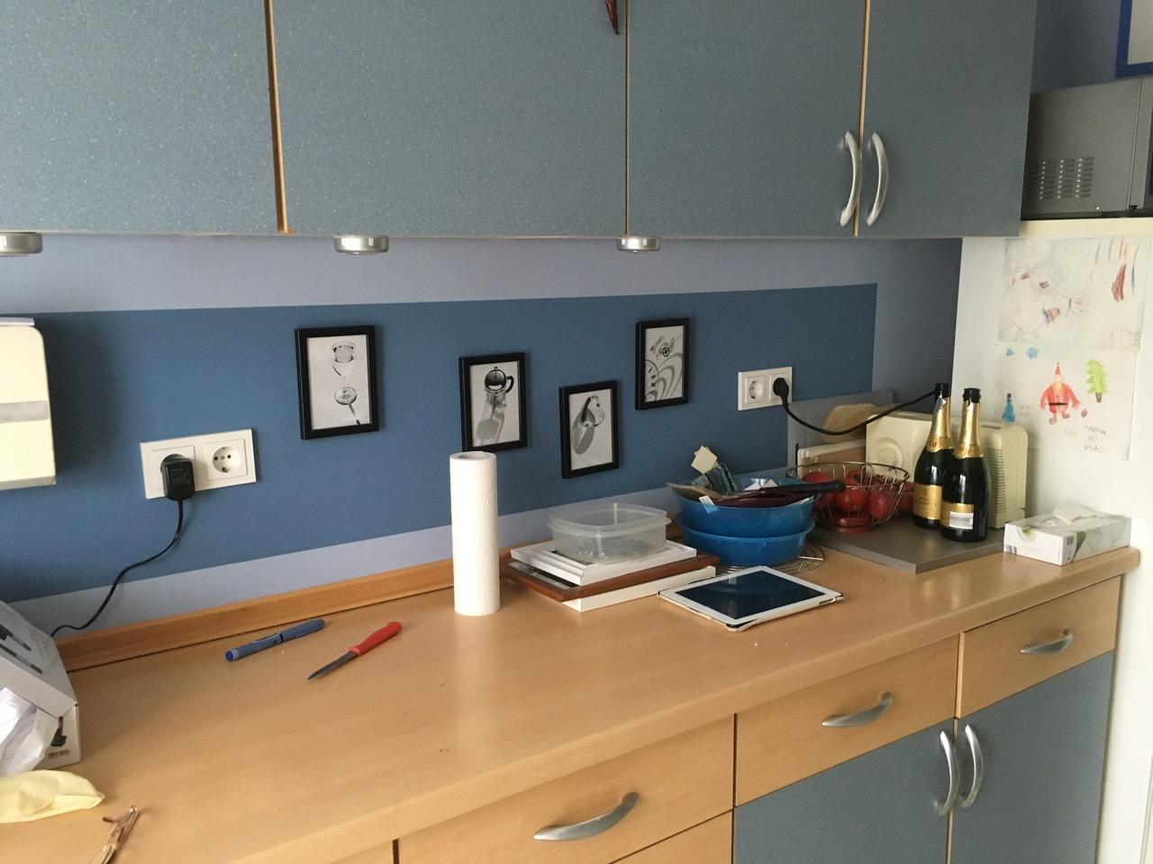 Gestaltung einer Küchenwand - Malermeisterbetrieb Timo Blender