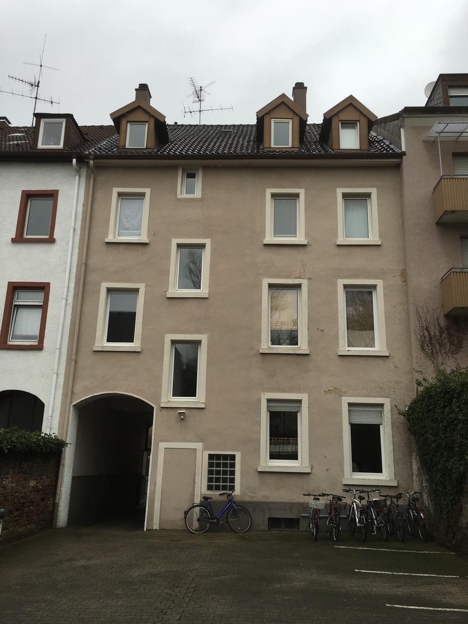 Fassade Südstadt - Vorher