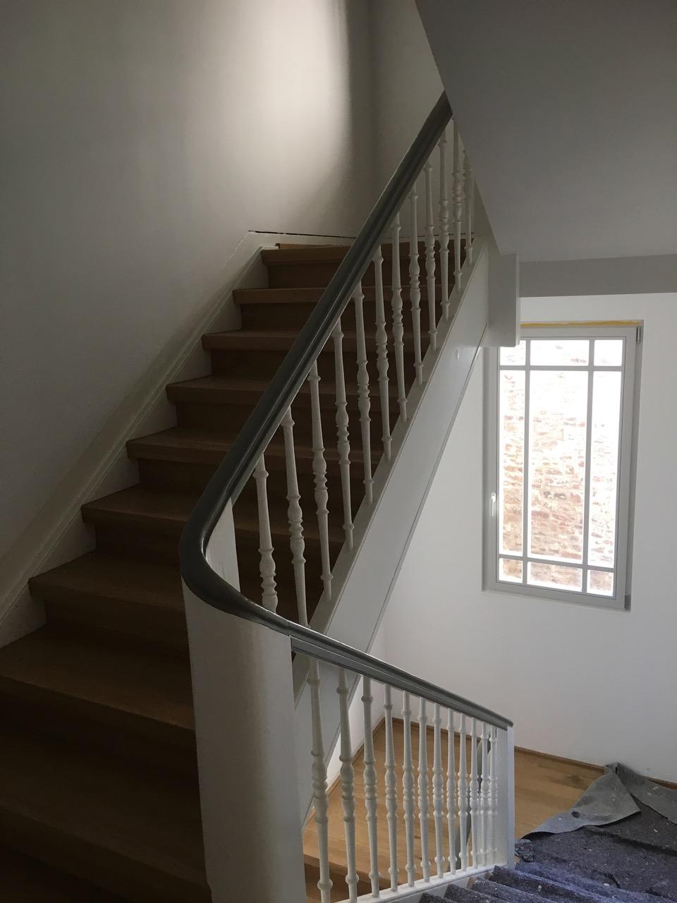 Treppenhaussanierung Altbau sanierung eines treppenhauses im altbau malermeisterbetrieb timo blender