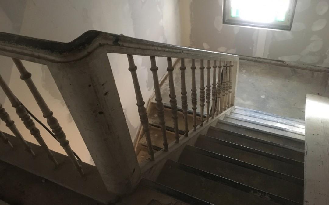 Altbau – Treppenhaussanierung
