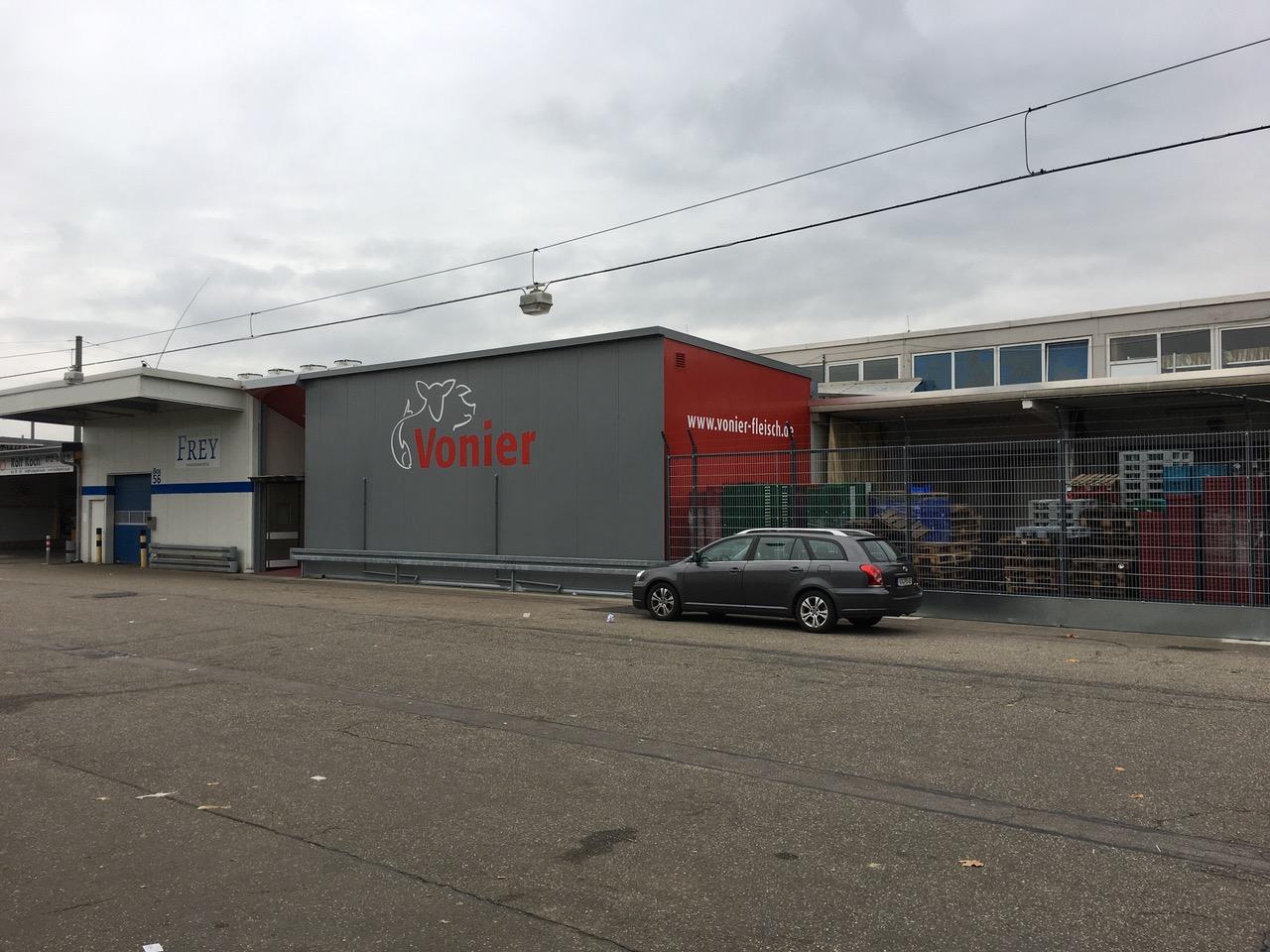 Fabrikhalle Großmarkt