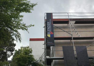 Neue Fassade Bauhaus-Bungalow