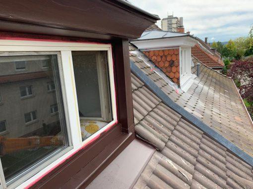 Restaurierung einer Dachgaube