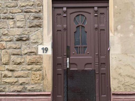 Restaurierung Tür 19
