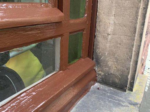Restaurierung Fenster und Tür 46