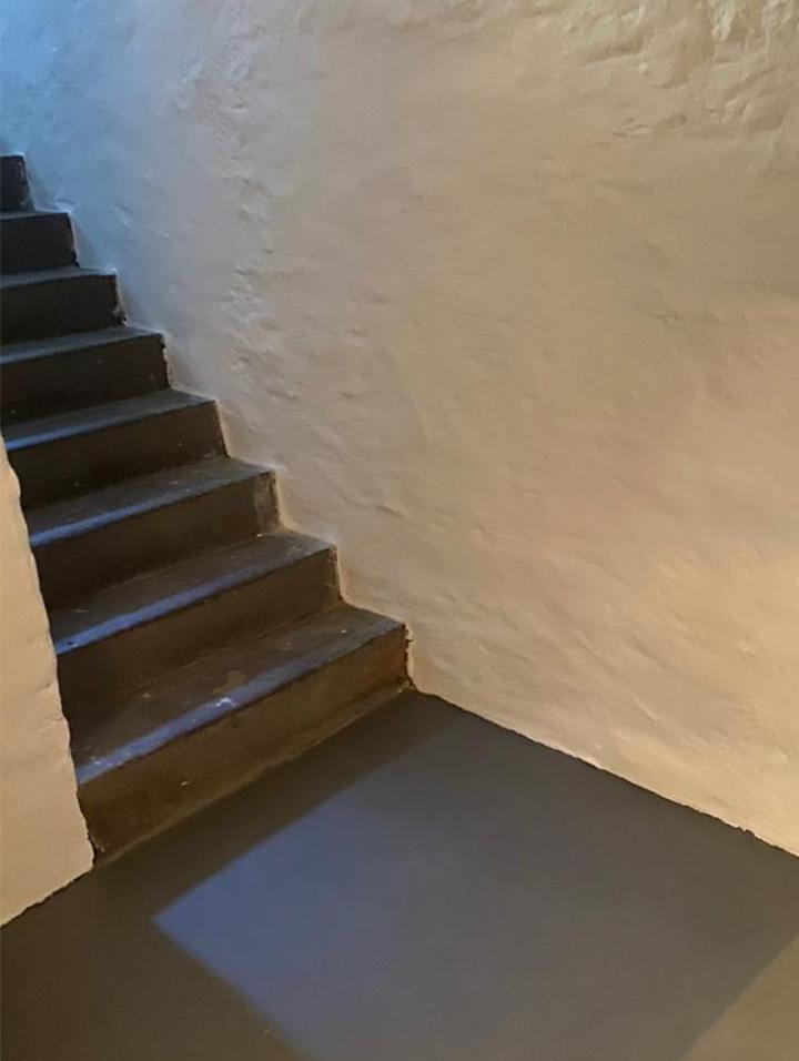 Neuer Boden im Keller