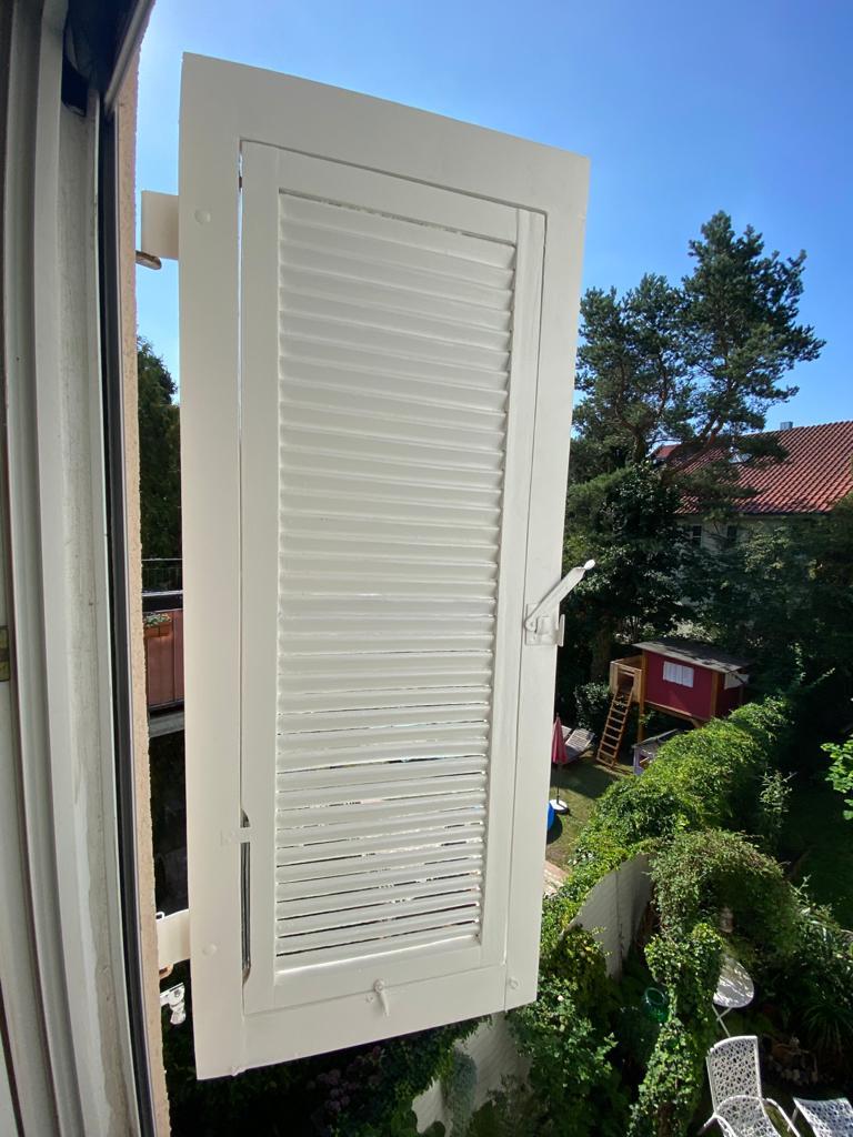 Fensterläden im neuen Glanz