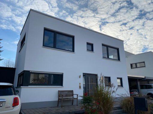 Fassade Bauhaus-Bungalow